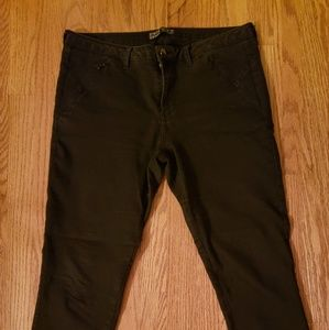 Zara Z1975 washed black mid rise skinny jeans GUC
